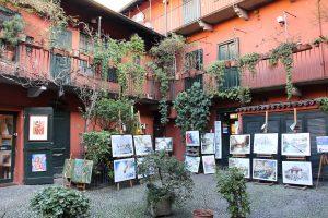 Milano gratis: cortile degli artisti