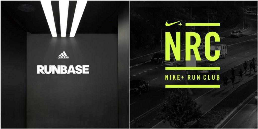 best service 1bd79 e8e53 Adidas Runbase e Nike+ Run Club