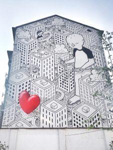 street art a milano: millo