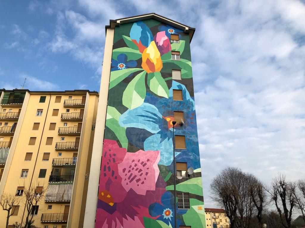 murales sponsorizzato da fastweb