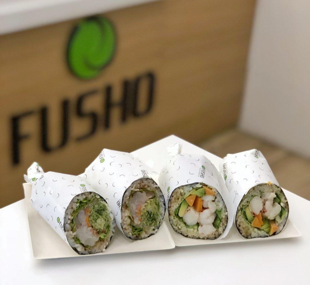 fusho sushi burrito milano