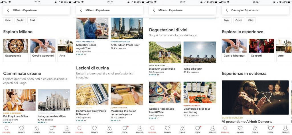 app per vivere milano airbnb