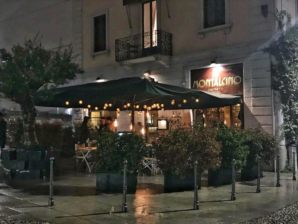 ristoranti sui navigli: montalcino milano