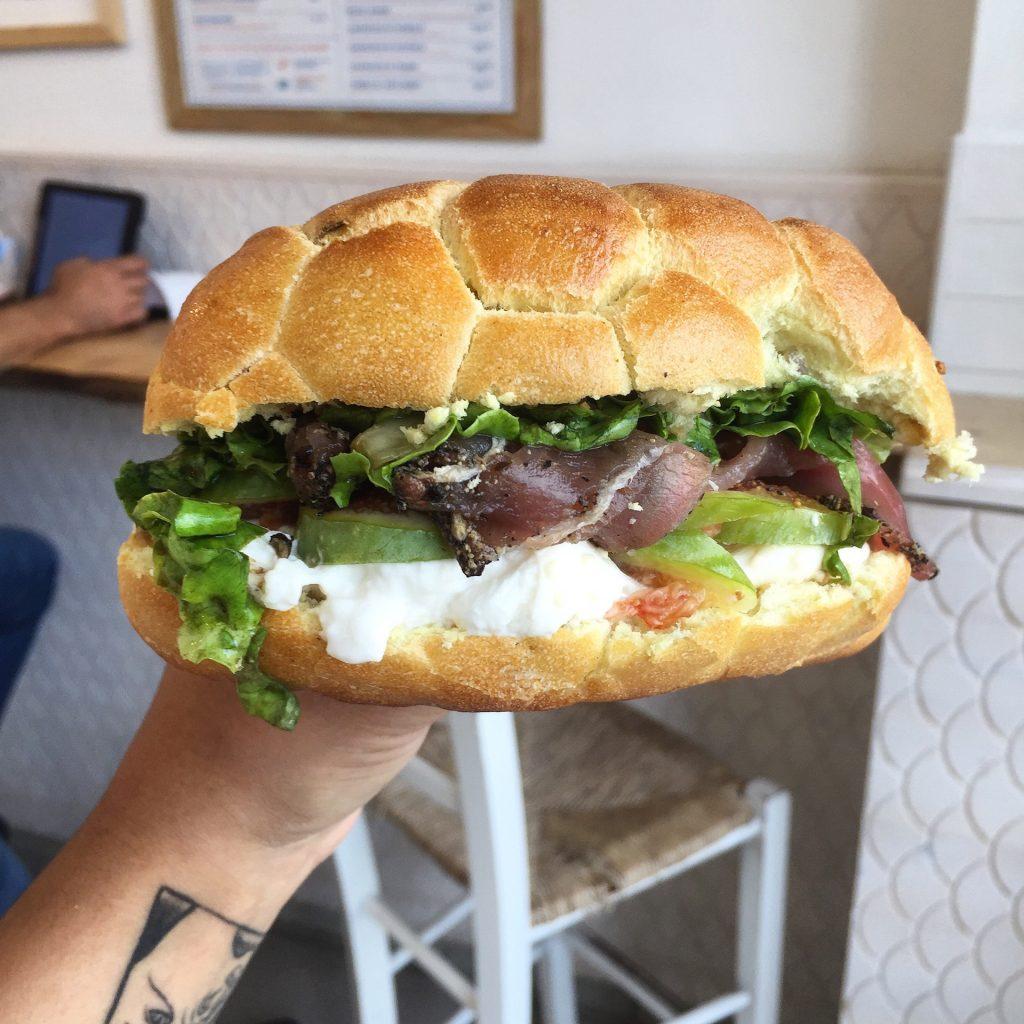 pescaria panino mangiare sano a milano