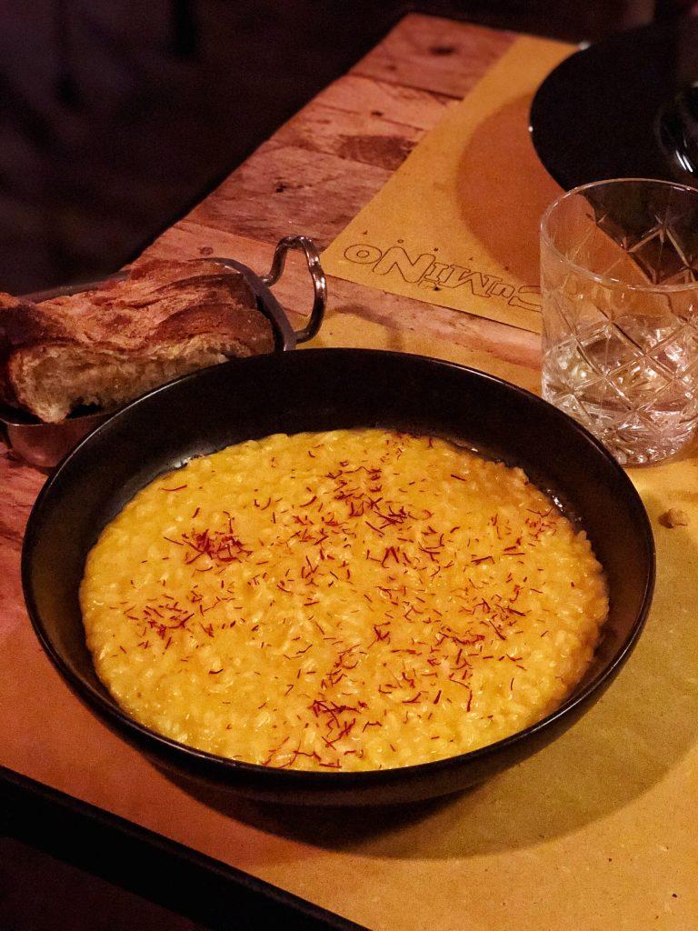 risotto giallo cumino bistrot