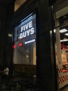 Five Guys Milano