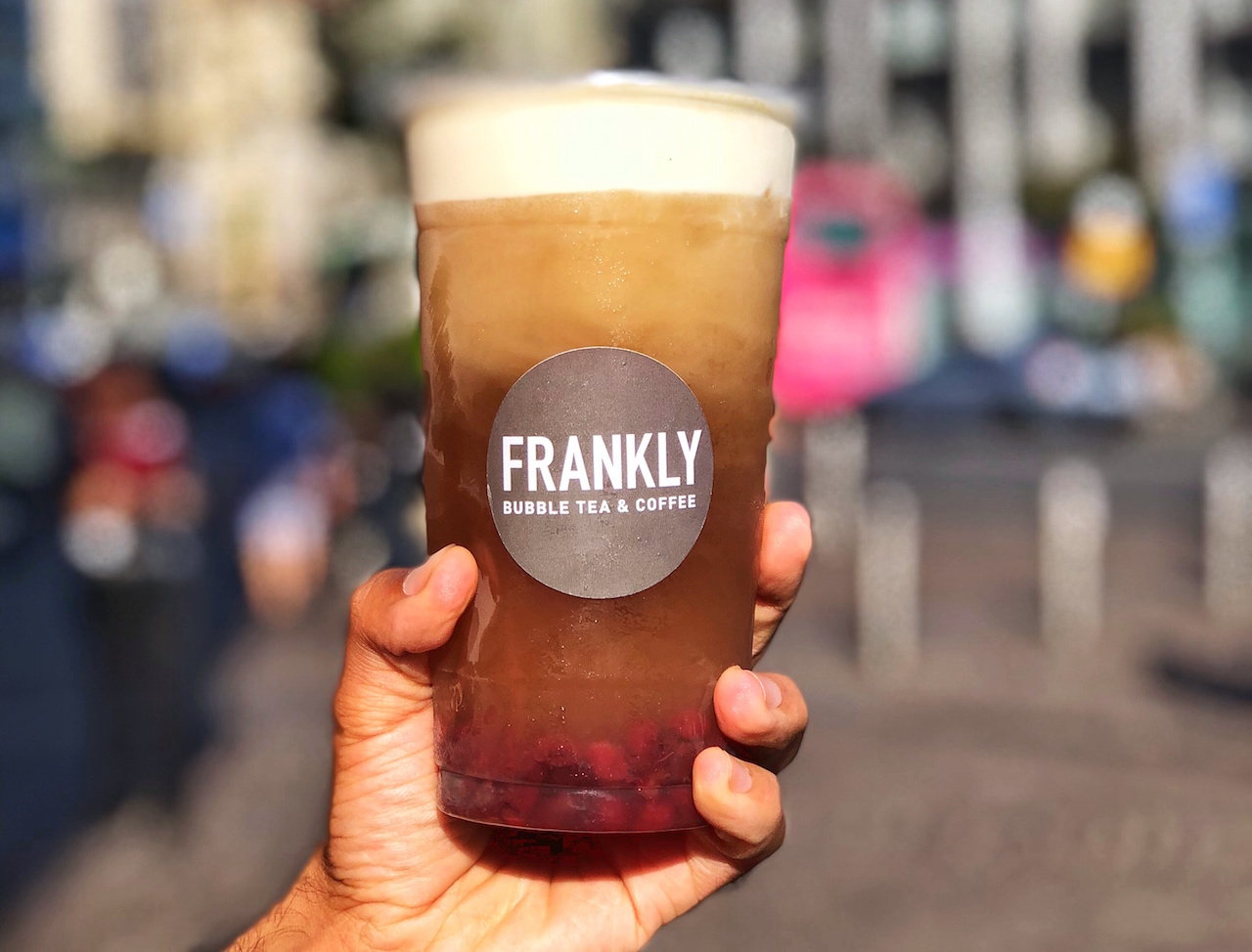 Frankly bubble tea a milano