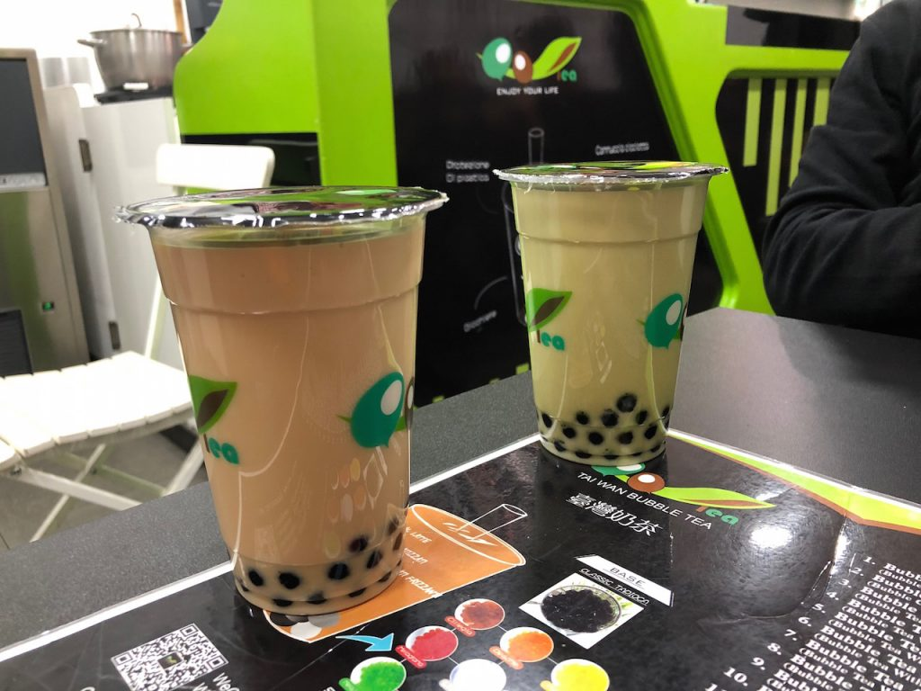 qqtea bubble tea a milano