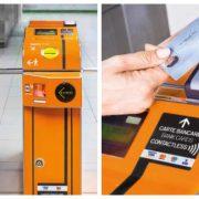 pagare il biglietto ATM contactless