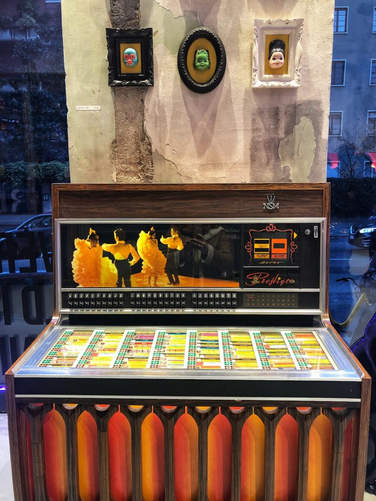 East Market Shop jukebox