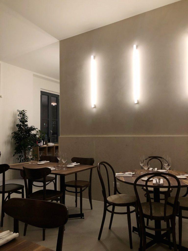 ristorante nebbia a milano: