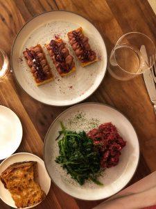 ristorante nebbia a milano: antipasti