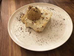 ristorante nebbia a milano: il dessert