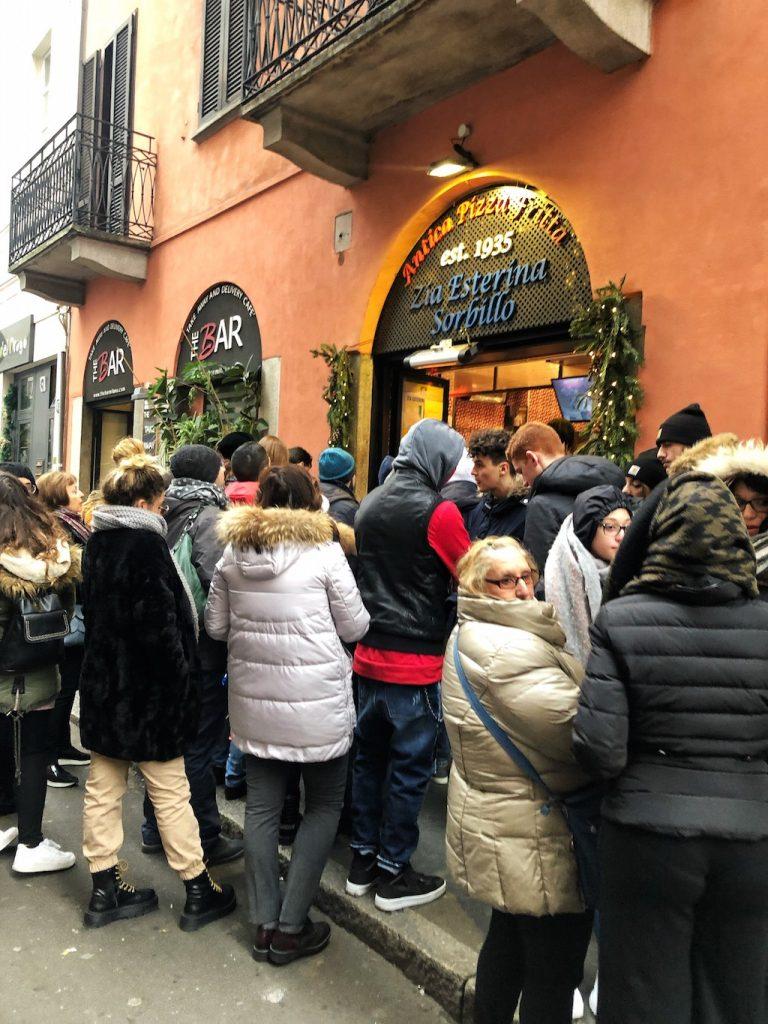 Zia Esterina a Milano