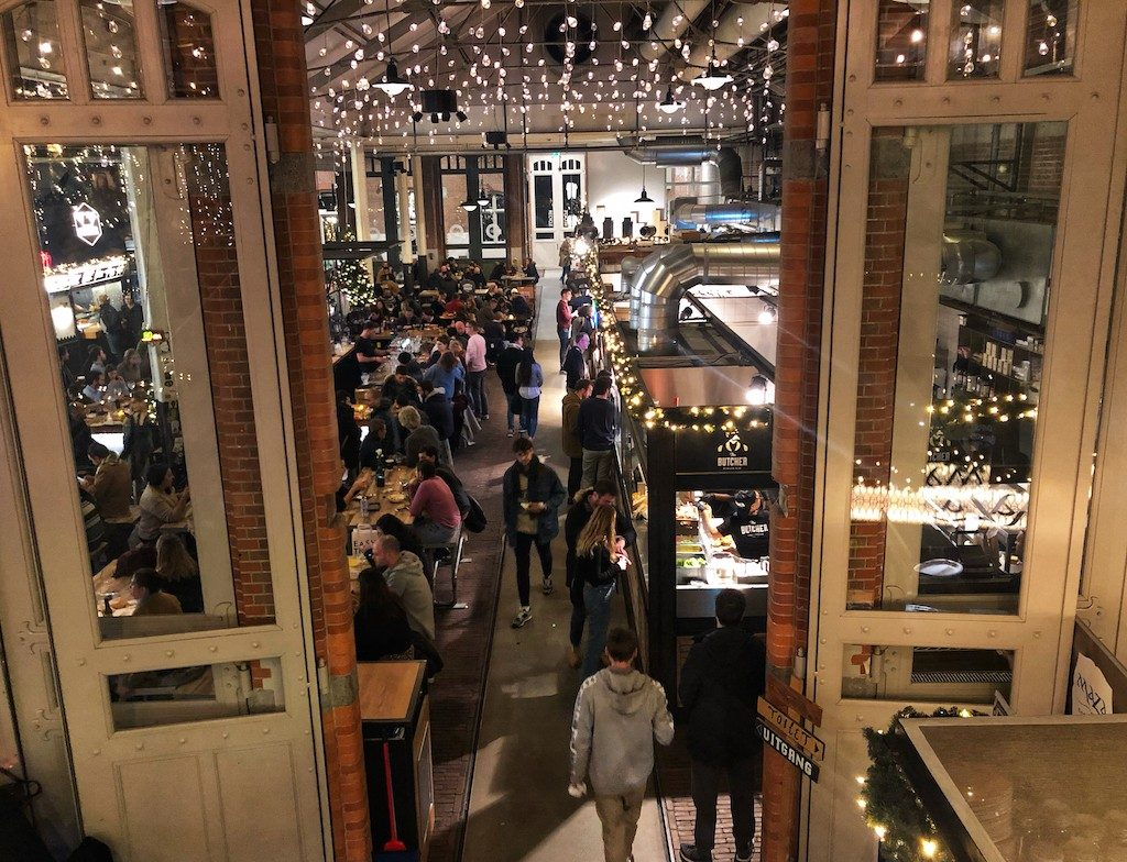 dove mangiare ad Amsterdam: Foodhallen