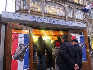 Dove mangiare ad Amsterdam: Frens Haringhandel