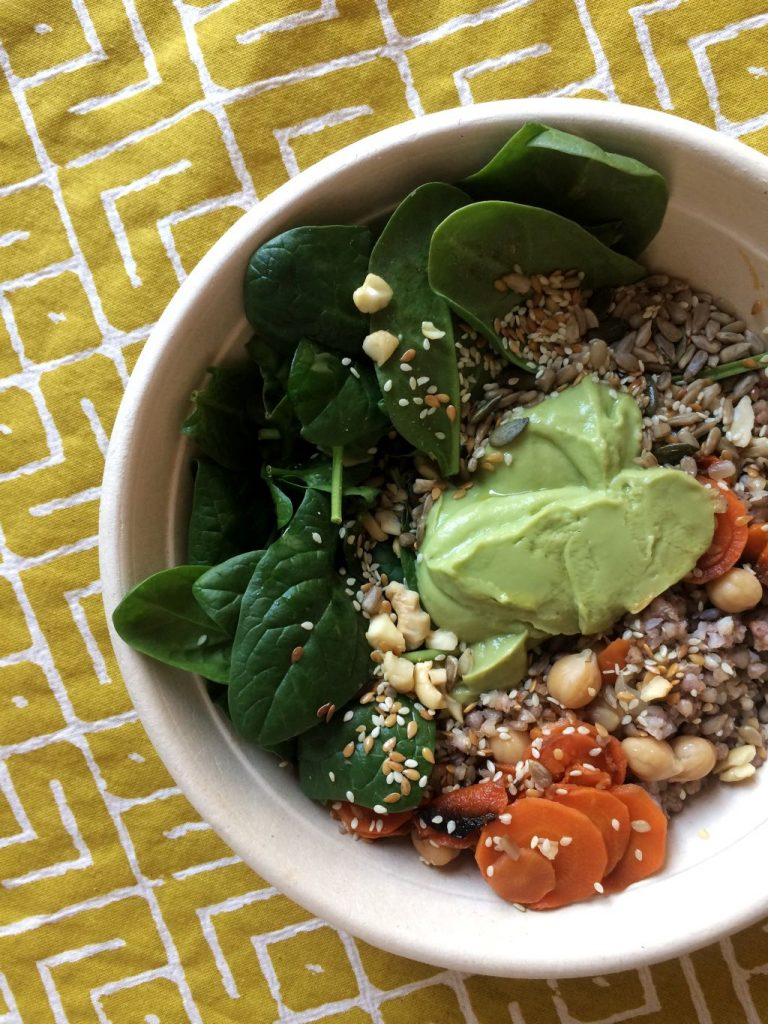 Buddha bowl a Milano: Crunchy Green