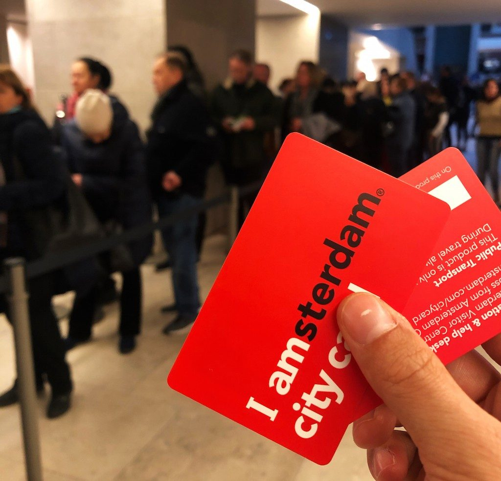 guida di Amsterdam: I Amsterdam city card