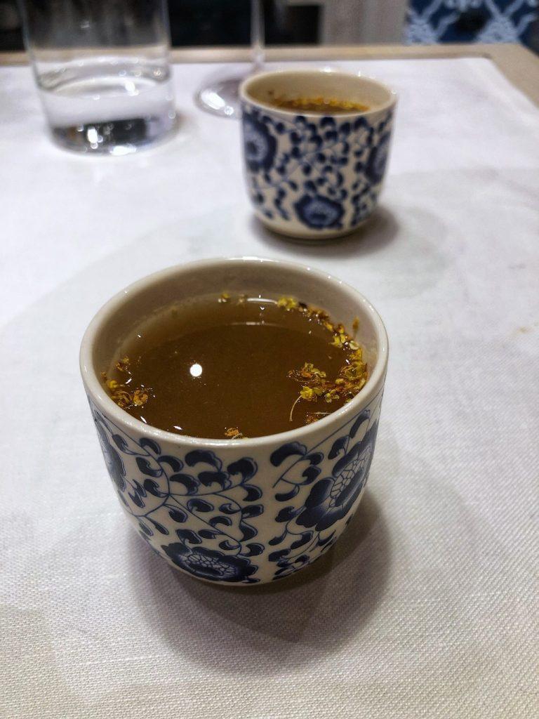 Serica a Milano: il tè caldo