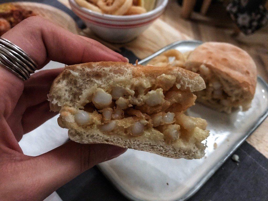 Tapas de Pescado: panino