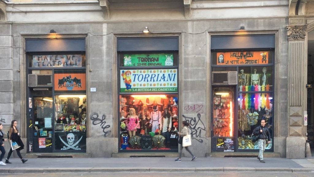 Dove comprare costumi di Carnevale a Milano: Torriani