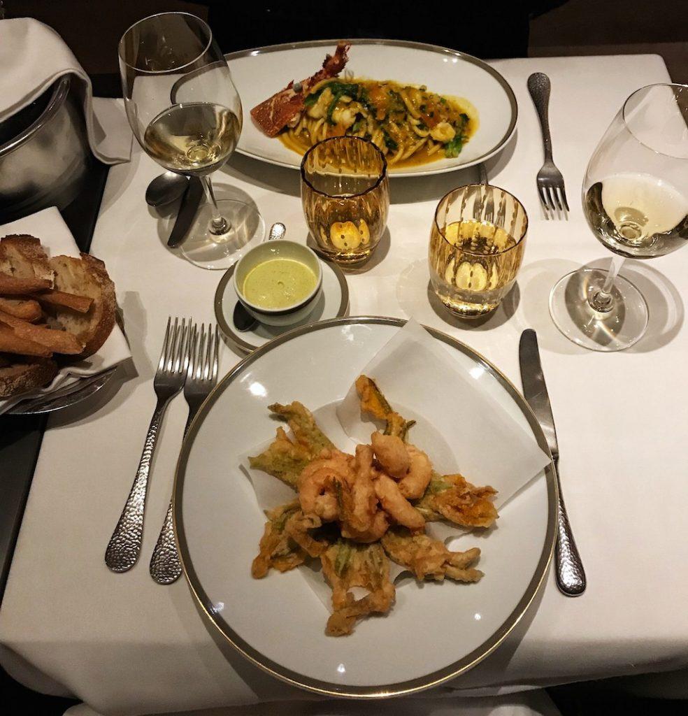 Langosteria Bistrot: il tavolo