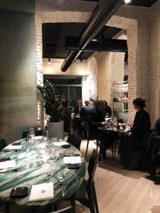 Fishion Restaurant: l'ambiente