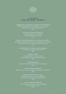 Fishion Restaurant: menu