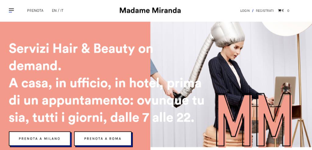 app per risparmiare tempo: Madame Miranda