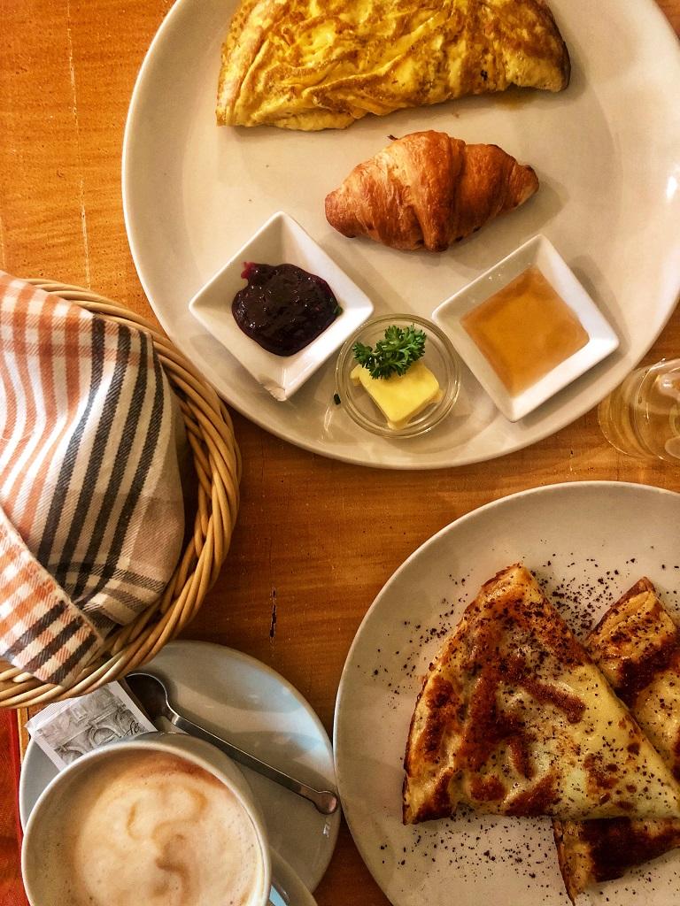 La colazione da Le petit cafè a Lubiana