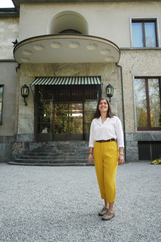 L'ingresso di Villa Necchi Campiglio