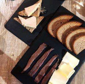 Acciughe e foie gras