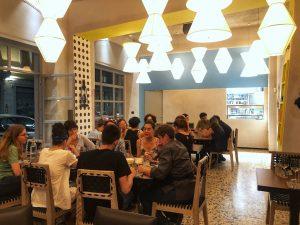 Una sala di Spica Restaurant