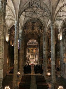 L'interno del Mosteiro dos Jerònimos