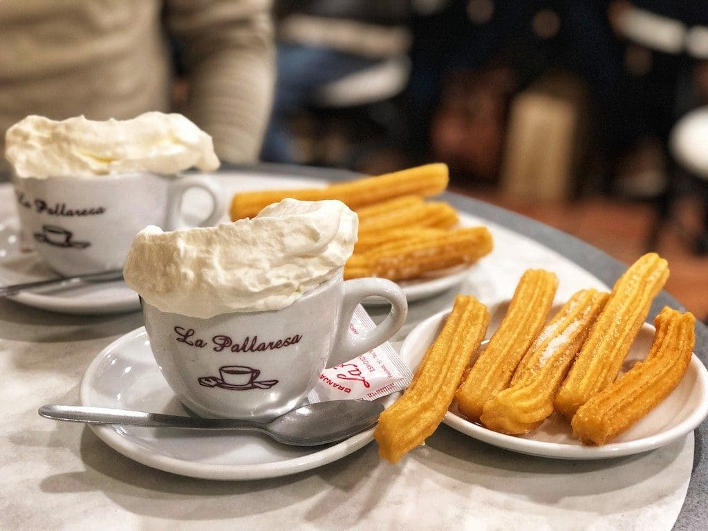Granja La Pallaresa: cioccolata e churros