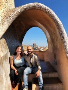 La vista sulla Sagrada Familia
