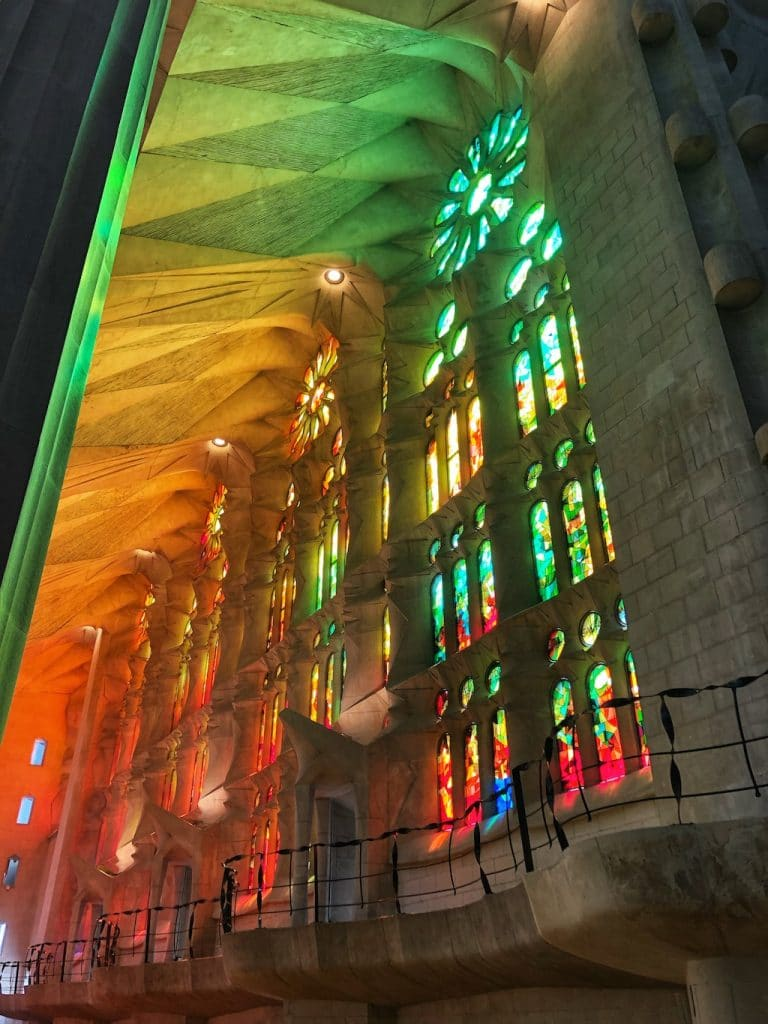 Sagrada Familia: interni