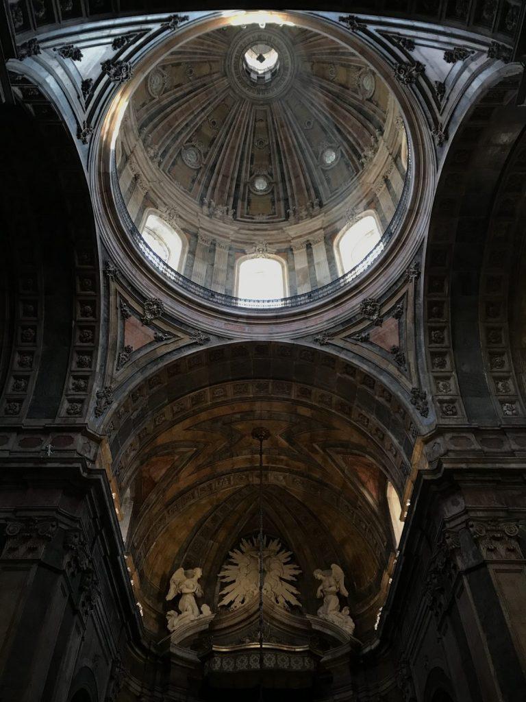 Interno della Basilica da Estrela