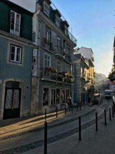 Strade di Lisbona