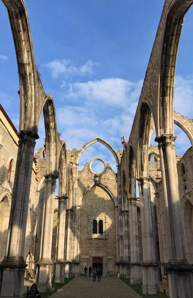Lisbona in 3 giorni: Convento do Carmo
