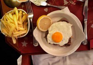 Il filetto con l'uovo