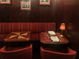 Il nostro tavolo al Café de São Bento