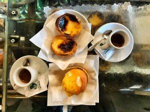 La colazione da A Brasileira