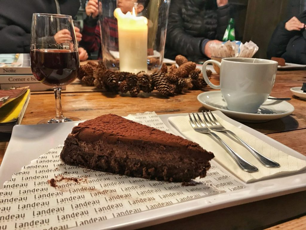 La torta al cioccolato di Landeau