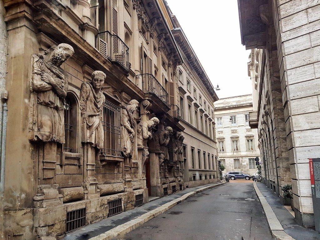 Cosa fare a Milano gratis: Casa degli Omenoni