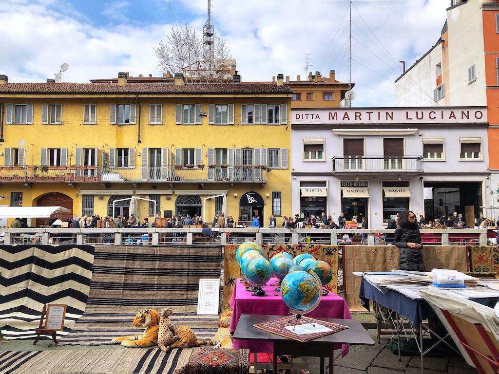 Cosa fare a Milano gratis: Mercato dell'Antiquariato