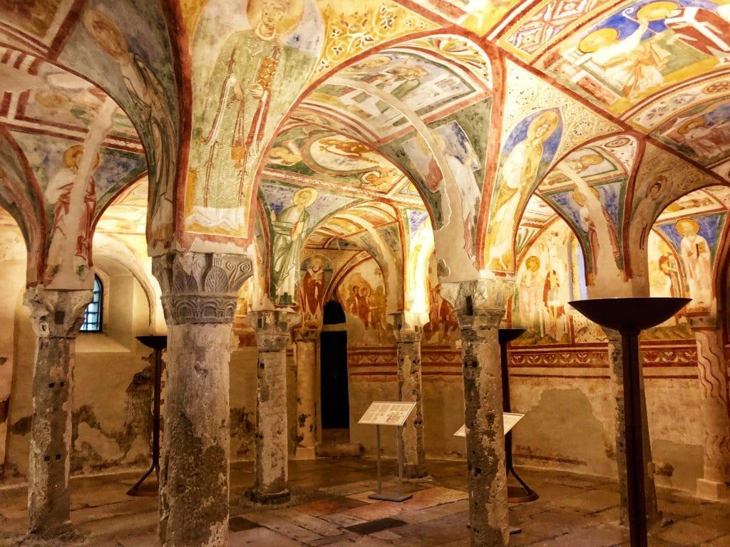 Aquileia - La Cripta degli Affreschi della Basilica Patriarcale