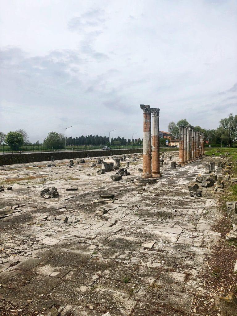 Aquileia - Il Foro Romano