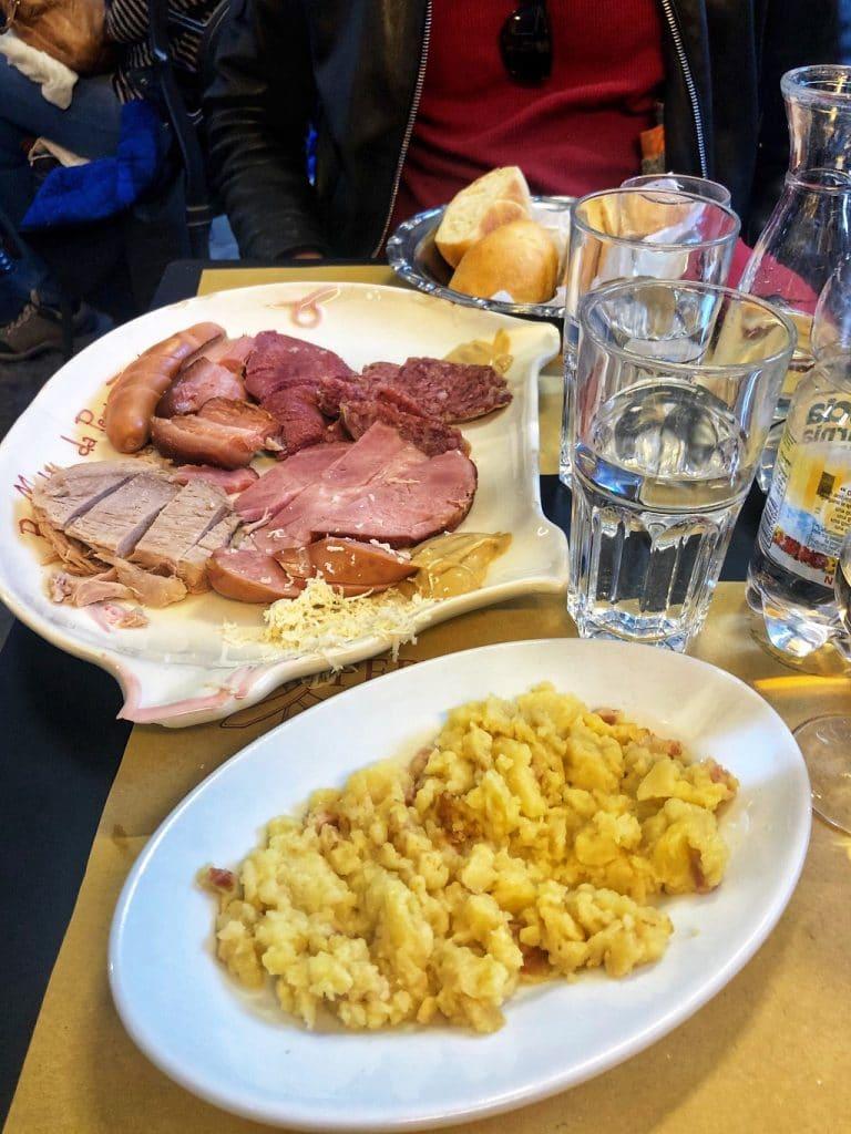 Il bollito misto del Buffet da Pepi a Trieste