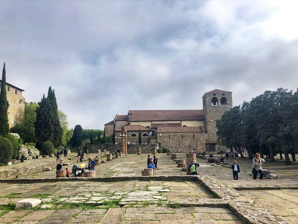 Il Foro Romano a Trieste